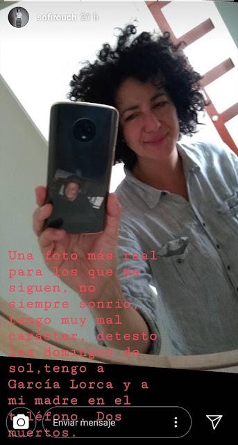 Sofía Rocha, su último mensaje en redes sociales