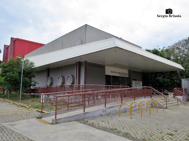 Vista ampla do Teatro Alfredo Mesquita - Santana - São Paulo