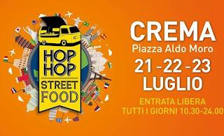 Hop Hop Street Food 21-22-23 luglio Crema