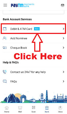 how to apply for paytm atm card