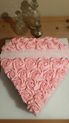 Valentines Dag kage