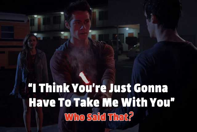 Teen Wolf Quotes Quiz