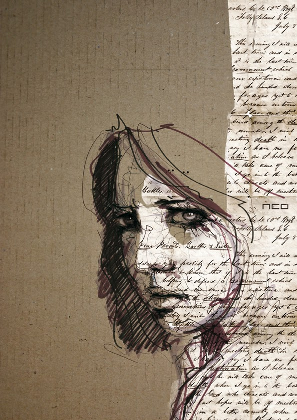 09-Eve-Florian-Nicolle-neo-Portrait-Paintings-focused-on-Expressions-www-designstack-co
