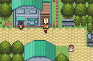Pokemon Super Glazed para GBA Glenwood Town Pueblo Inicio