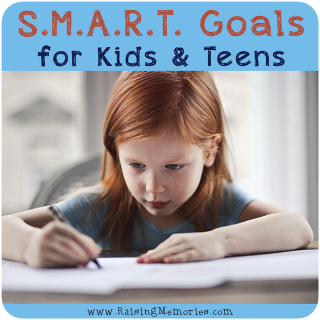 How to teach the S.M.A.R.T. Goal Setting Acronym