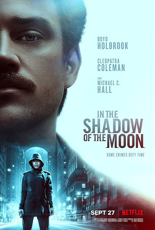 Poster Of In the Shadow of the Moon 2019 In Hindi Bluray 720P Free Download