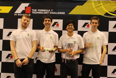 Introducing F1 in Schools competitors Tiro Racing...