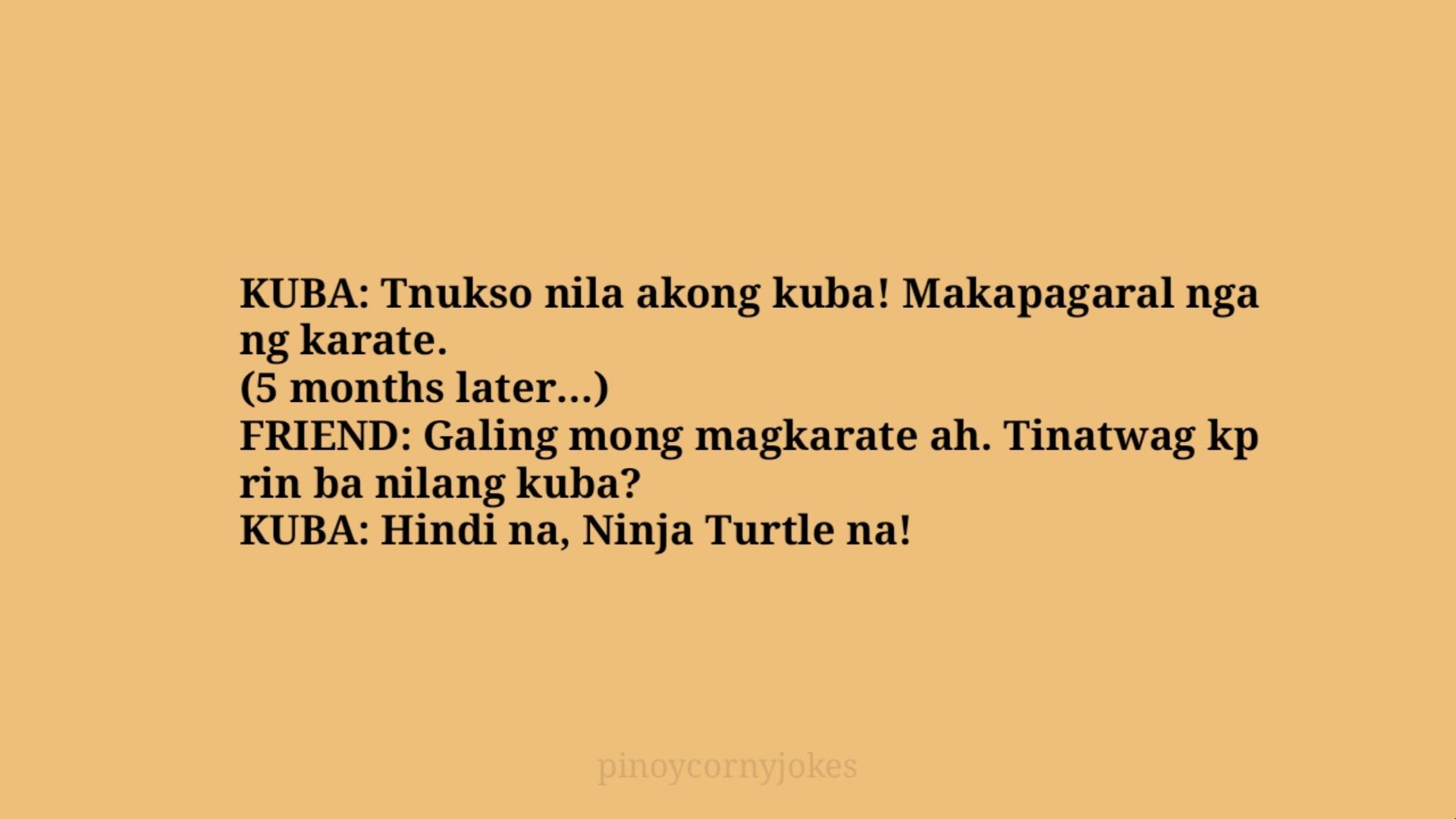 kuba tagalog jokes