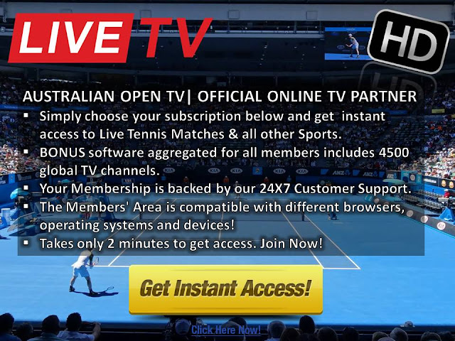 Watch The 2016 Australian Open men's and women's singles finals live