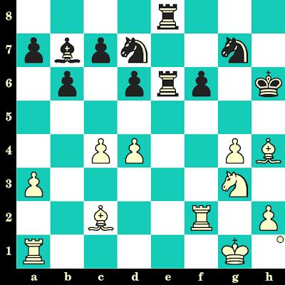 Les Blancs jouent et matent en 2 coups - Alexander Alekhine vs Fahardo, Montevideo, 1939