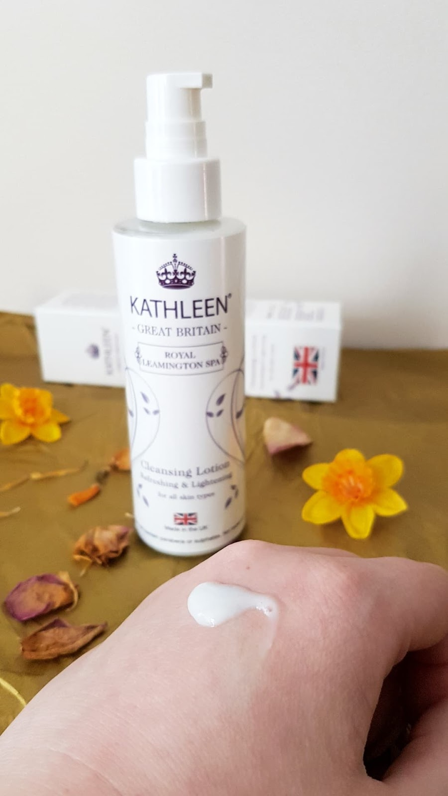 Kathleen Natural Skincare Review - Cleansing Lotion