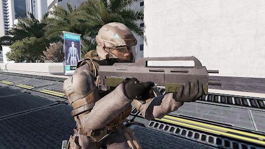 Arma3用HALO MOD MA5K カービン