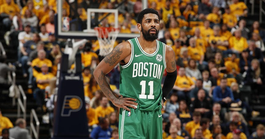 Kyrie Irving's absolutely absurd play put his superior skills on display