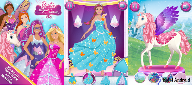 Game Barbie Android Offline Magical Fashion