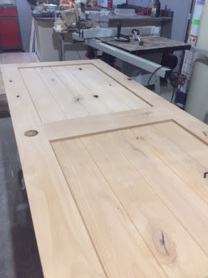 image result for alder wood door 2 panel plank rustic collection Pacific Entries