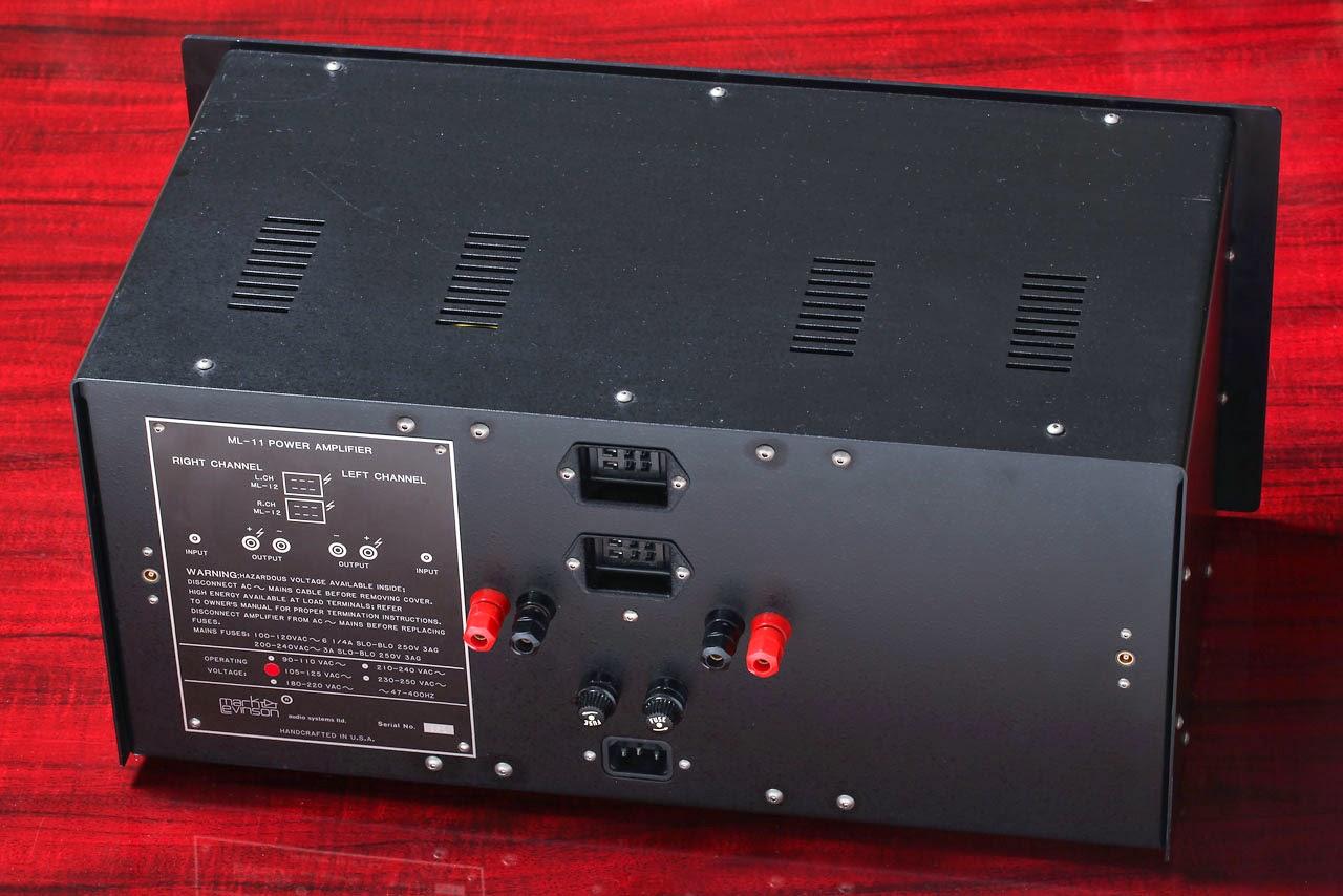 Mark Levinson Vintage Audio Gear: ML-11 | 2 x 50W amplifier | 1982