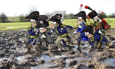 Meme de humor sobre Napoleón