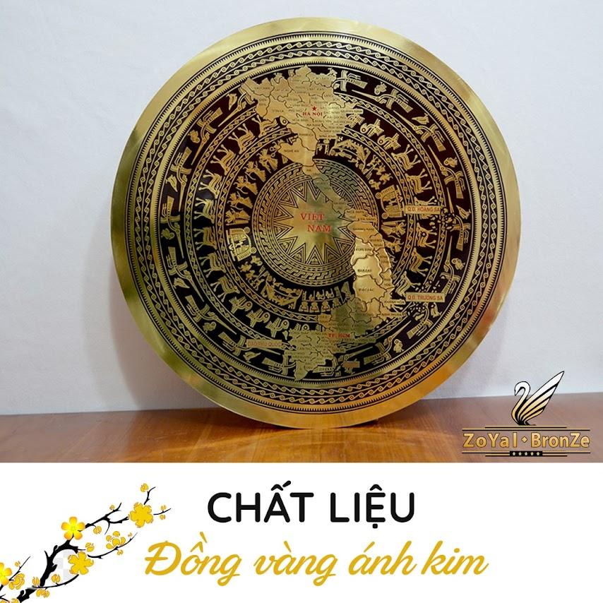 [A117] Quà tặng mặt trống đồng cao cấp tại Hà Nội