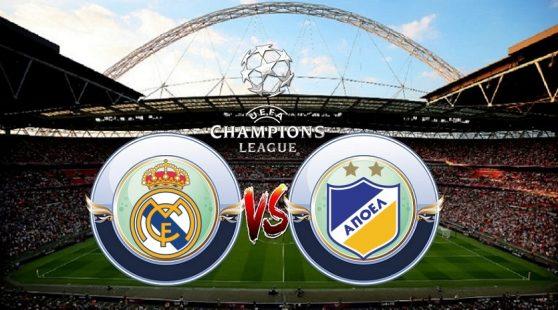 Prediksi Real Madrid vs APOEL - Grup H Liga Champions Rabu 13/9/2017