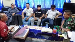 Bangun Sinergitas, Danlanal Morotai Silaturahmi Bersama Wartawan