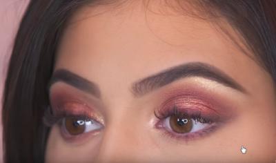 Luxury Makeup - (Kylie Jenner's eyelashes Inspired Makeup )