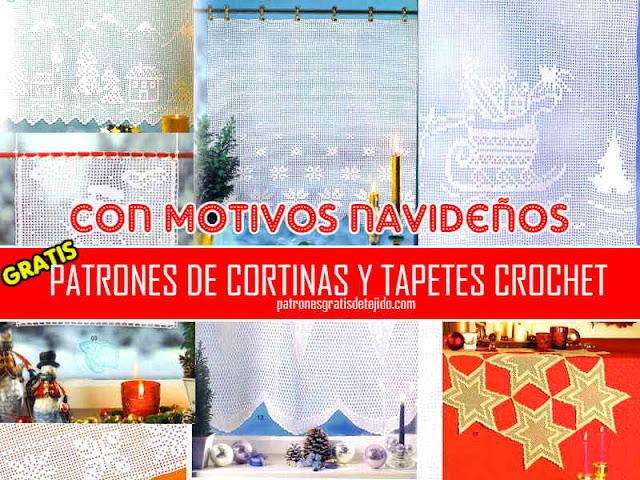 patrones-cortinas-navidad-ganchillo