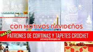 Revista de Patrones de Cortinas y Tapetes para Navidad