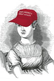 Jane Austen MAGA hat