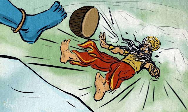 तो इसलिए भोलेनाथ ने रावण को फेंक दिया था कैलाश पर्वत के नीचे