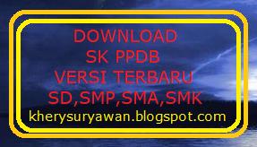 File Pendidikan SK PPDB Terbaru Tahun 2019/2020 Untuk Jenjang SD,SMP,SMA,SMK