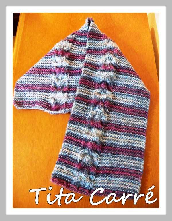 Cachecol Curto em tricot