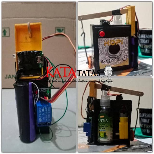 Hand Sanitizer Spray Otomatis