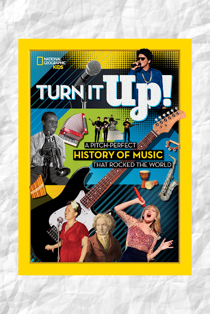 National Geographic Turn It Up History of Music Book
