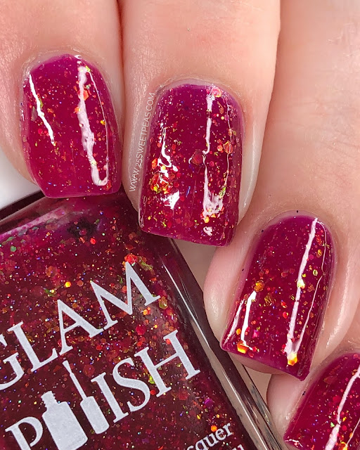 Glam Polish Vampire Diaries 25 Sweetpeas