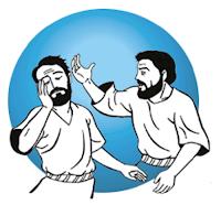 Resultado de imagem para imagem se alguém te dá um tapa na face direita, oferece-lhe também a esquerda!