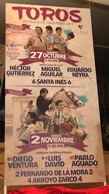 toros festival calaveras aguascalientes 2019