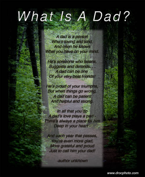 Father's Day Poems In Graphics : Let's Celebrate