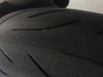 usura pneumatici moto