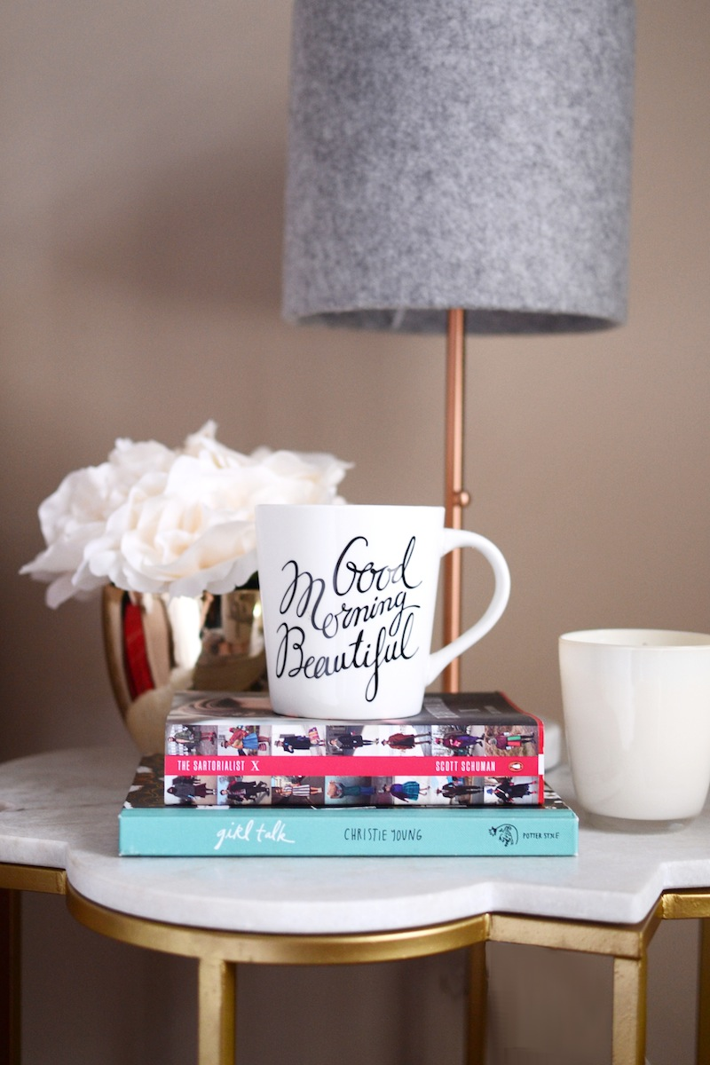Good Morning Beautiful mug chapters indigo vancouver blogger