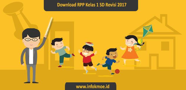 Download RPP Kelas I SD Semua Tema  Revisi Terbaru 2017