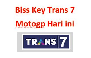 biss key trans 7 motogp