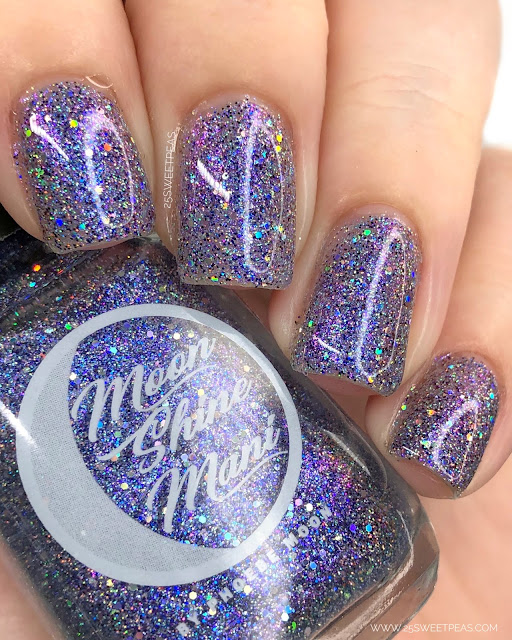 Moon Shine Mani Allstars 25 Sweetpeas