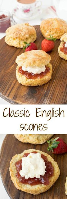 EASY ENGLISH SCONES RECIPE