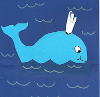 DIY hval kort