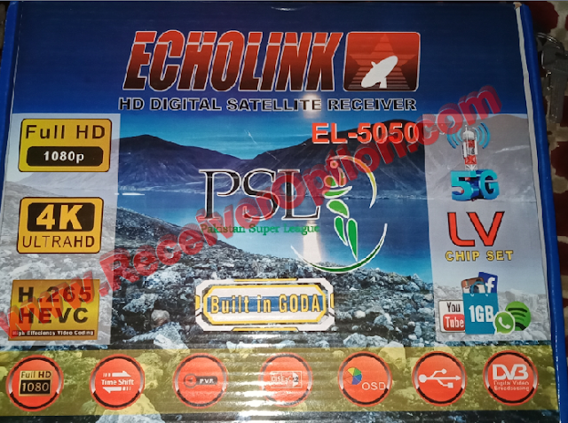 ECHOLINK EL-5050 SIM TYPE 1506LV 1G 8M NEW SOFTWARE WITH DOLBY SOUND OK