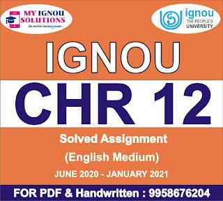 ignou chr solved assignment 2020; ignou chr assignment 2020; ignou chr solved assignments 2019