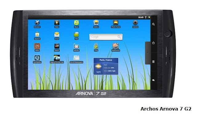 Archos Arnova 7b G2 tablet review