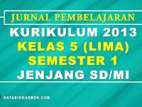 Jurnal Pembelajaran Tematik Kelas 5 Semester 1 SD/MI Kurikulum 2013 Tahun Pelajaran 2020 - 2021