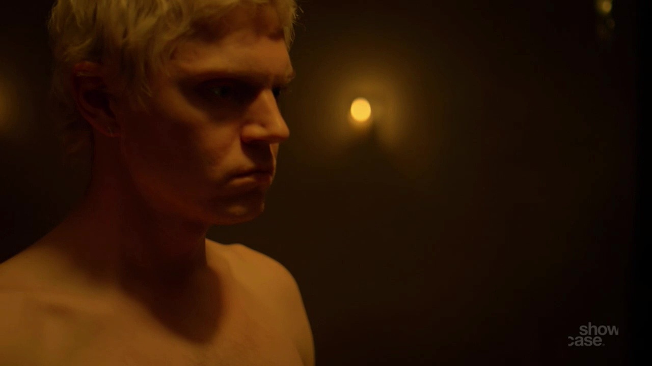 ausCAPS: Evan Peters shirtless in Pose 1-04 The Fever