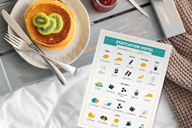 How to Plan the Ultimate Staycation - FREE Printables